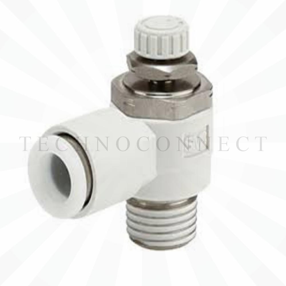 AS2201F-01-10S  Дроссель с обратным клапаном, R1/8