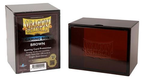 DS Deckboxes: Acrylic Brown (100)
