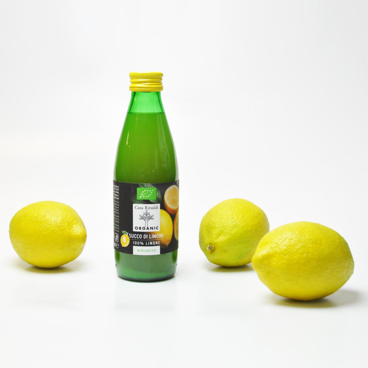 Сок  лимонный Bio Casa Rinaldi