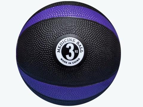 Мяч для атлетических упражнений (медбол). Вес 3 кг: MBD2-3 kg