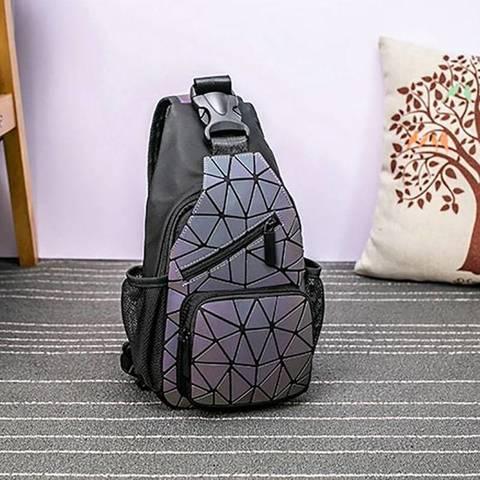 Сумка-рюкзак геометрический