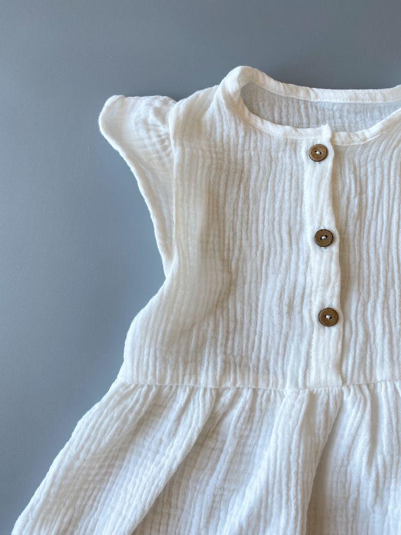 Муслиновое платье «Milk»