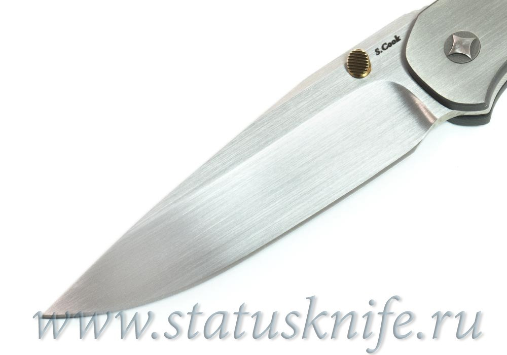 Нож Scott Cook Lochsa 2-tone Ti Handle - фотография