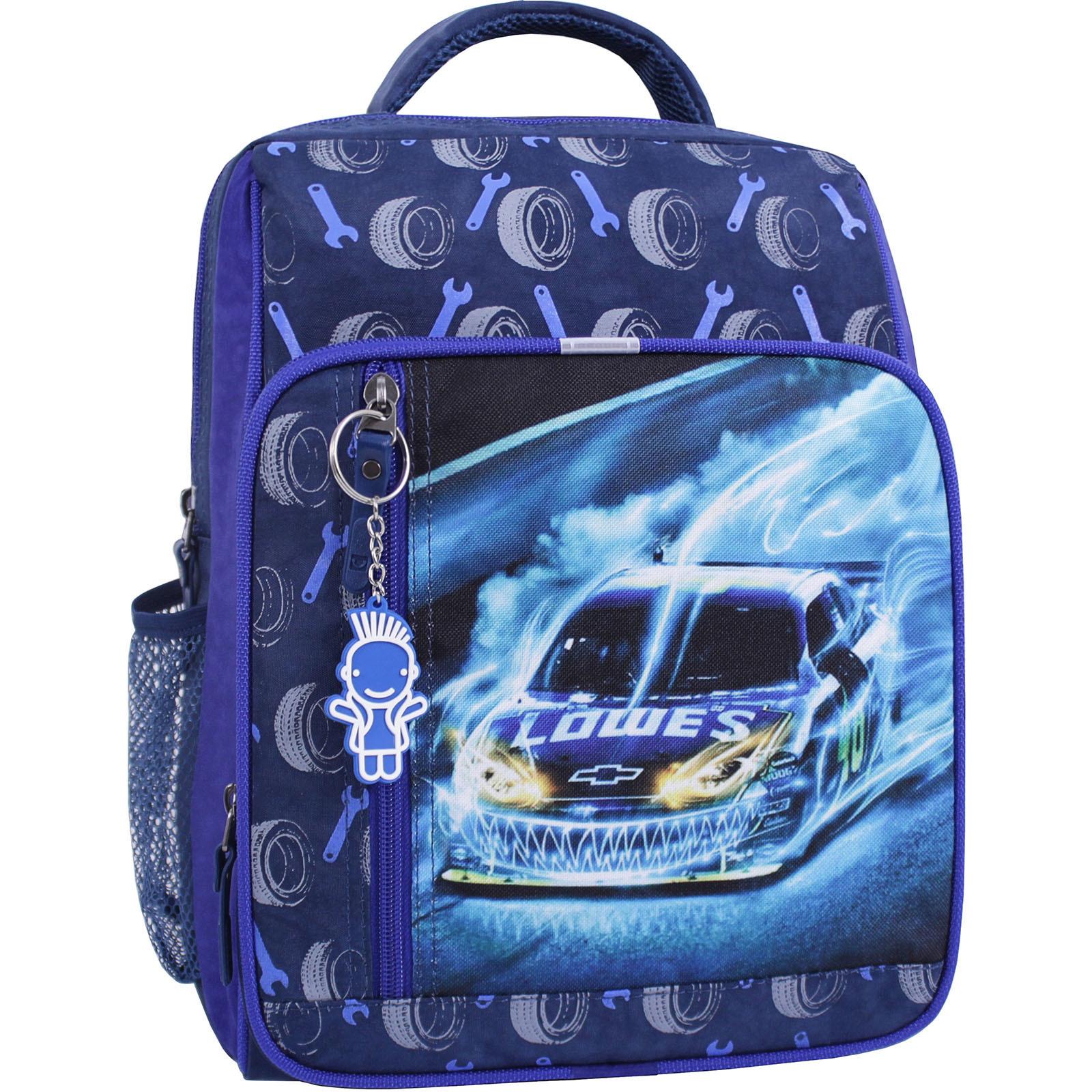 Детские рюкзаки Рюкзак школьный Bagland Школьник 8 л. синий 555 (0012870) IMG_1017_суб.555_.JPG