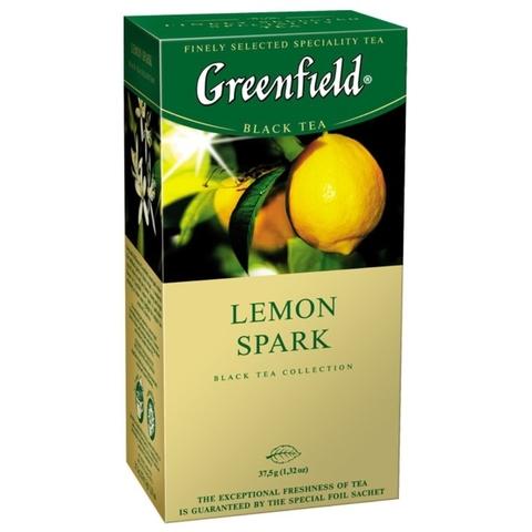 Чай GREENFIELD Травяной Lemon Spark 25*1,5 гр п/пак РОССИЯ