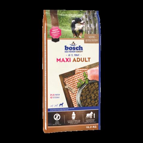 Bosch Adult Maxi Сухой корм для собак крупных пород с домашней птицей