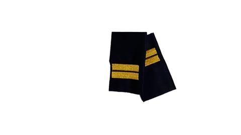 Фальшпогоны синие вышитые мл. сержант (ГИБДД)