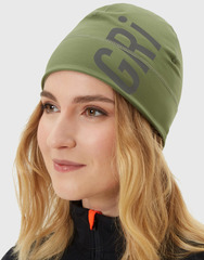 Элитная спортивная шапка Gri Темп оливковая