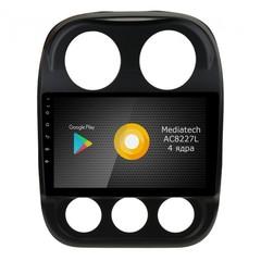 Штатная магнитола на Android 8.1 для Jeep Compas Roximo S10 RS-2203