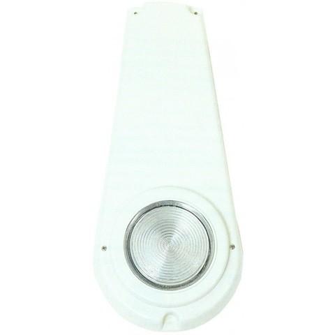 Светильник навесной 2х75Вт/12В, кожух термопласт, нержавеющая сталь AISI-316, кабель 2м
