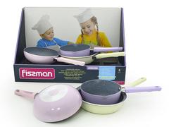 4863 FISSMAN Junior Мини сковороды в асортименте
