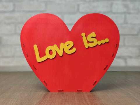 Корзинка Love is...