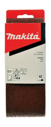Шлифовальная лента Makita # 80 76x457 мм