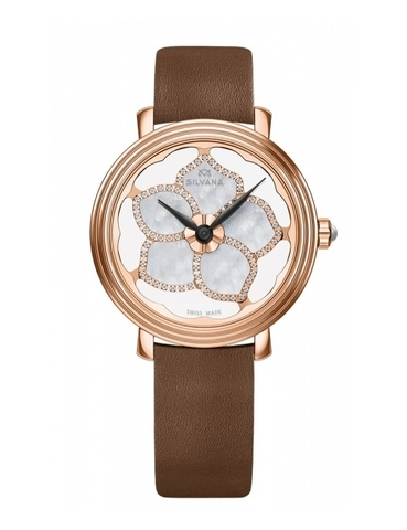 Часы женские Silvana SF36QRR95VB Flowers