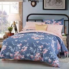 Сатиновое постельное бельё  1,5 спальное Сайлид  В-176