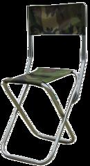 Стул складной туристический малый Митек со спинкой
