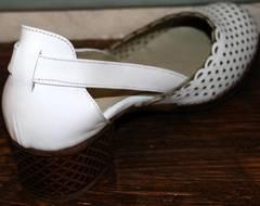Босоножки на низком каблуке Evromoda 101-6 White.