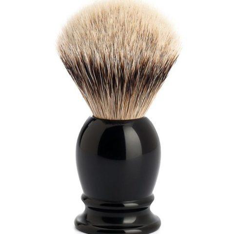 Помазок MUEHLE CLASSIC , барсучий ворс Silvertip, Черный 099K256