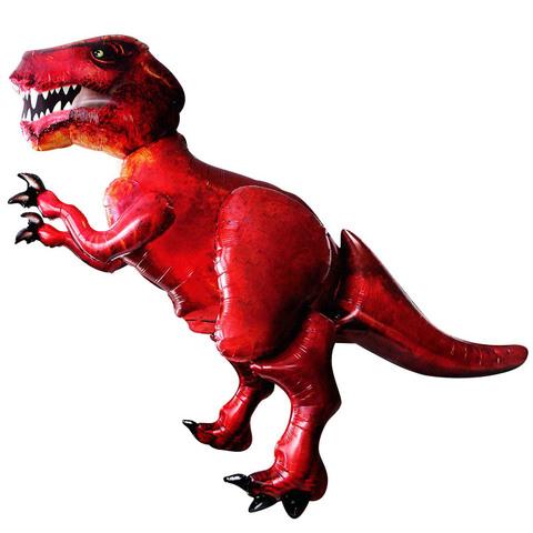 Воздушный шар ходячая фигура динозавр Тирранозавр.
