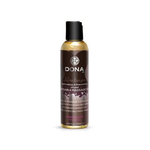 Вкусовое массажное масло с феромонами и ароматом