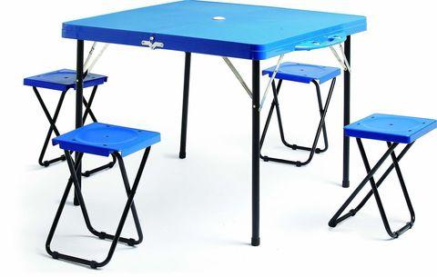 Набор туристической мебели HXPT-8833. Размер стола 85,5 х85 см, высота 69 см
