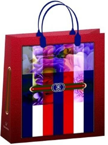Подарочные пакеты 32x42+10 из мягкого пластика