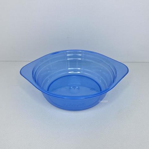 Миска стеклоподобная синяя (10 шт.)