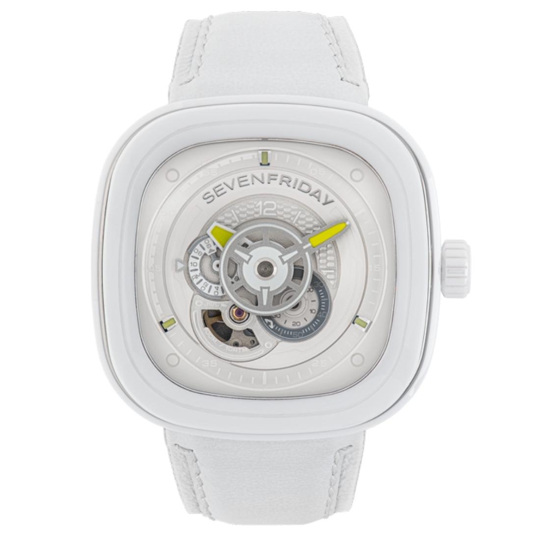 Часы Sevenfriday белые керамические