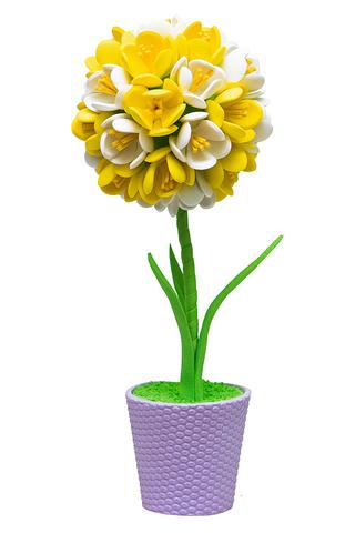 Жёлто-белый