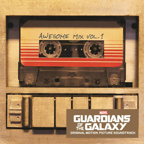 Виниловая пластинка. Guardians of the Galaxy: Awesome Mix vol. 1