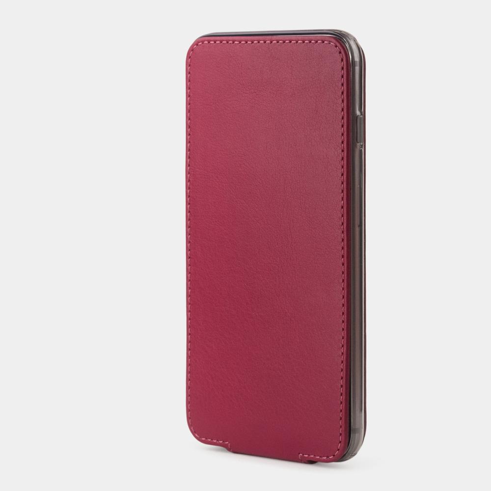 Чехол для iPhone 6/6S Plus из натуральной кожи теленка, цвета малины