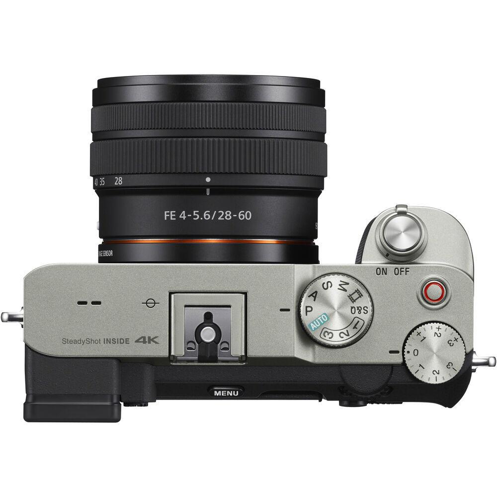 Фотоаппарат Sony A7C серебристый купить в Sony Centre Воронеж