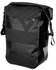 Велосумка на багажник Topeak Pannier Drybag W/Quicklock System 15L, Black (1 штука)