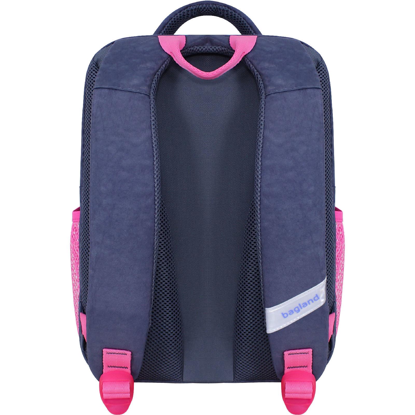 Рюкзак школьный Bagland Школьник 8 л. серый 892 (0012870)