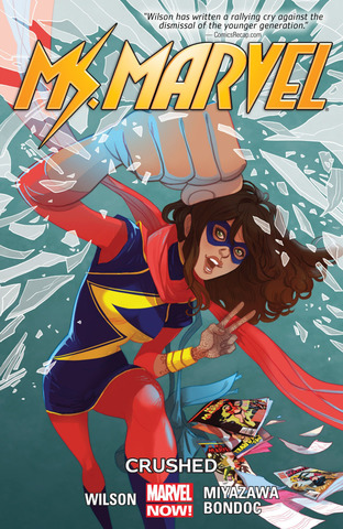 Ms. Marvel TPB #3 Crushed (Marvel Now)