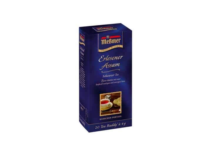 Чай черный в пакетиках Messmer Изысканный Ассам, 20 пак/уп, 4 г