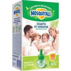 Средство от насекомых MOSQUIT Жид-ть от комаров 60 ноч Защита д/всей семьи