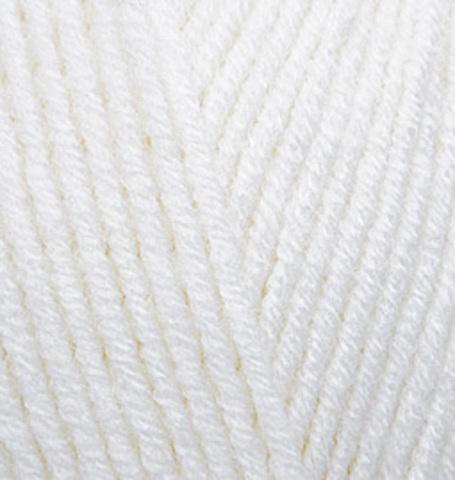 Пряжа Alize Lanagold 55 белый