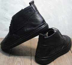 Мужские ботинки кэжуал зимние Rifellini Rovigo C8208 Black
