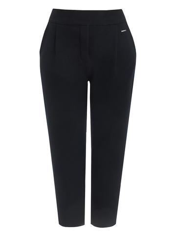 Женские брюки черного цвета из шерсти - фото 6