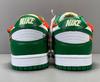 Off-White x Nike Dunk Low 'White/Pine Green'