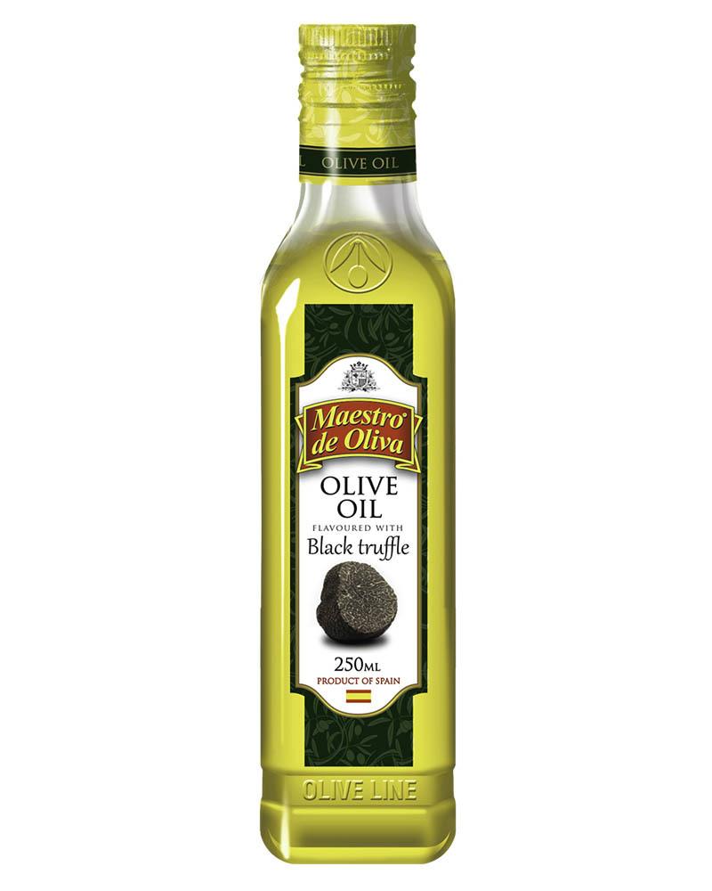 Масло оливковое Maestro de Oliva с Ароматом Черного Трюфеля 0,25л