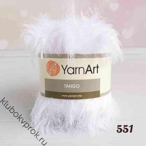 YARNART TANGO 551, Белый