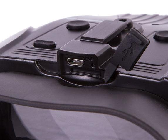 Бинокль ночного видения цифровой Bresser 1–2x, с креплением на голову - фото 7