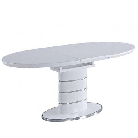 Стол обеденный AVANTI LUNA (120) WHITE (белый)