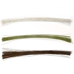 Проволока флористическая 60 см. (герберная проволока) 0,8 мм., 10 шт. (выбрать цвет)
