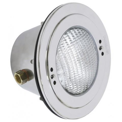 Светильник встраиваемый п/плёнку 300Вт/12В, нержавеющая сталь AISI-316, кабель 2,5 м