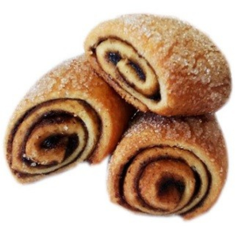 Печенье Муфточки с черёмухой 1 кг