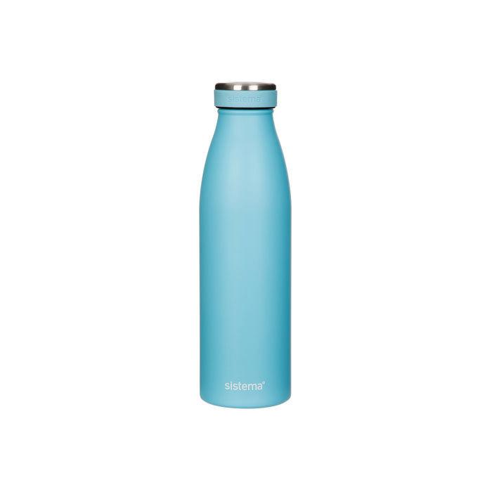 "Термобутылка Sistema ""Hydrate"" 500 мл, цвет Голубой"
