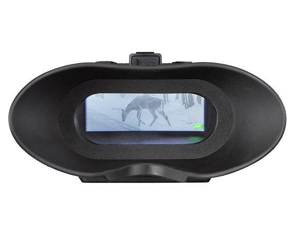 Бинокль ночного видения цифровой Bresser 1–2x, с креплением на голову - фото 8